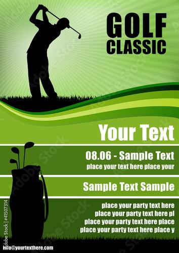 Fotografia Golf Flyer