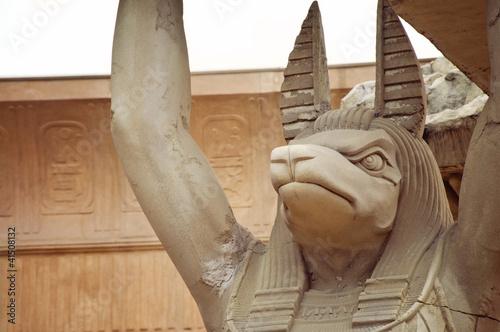 Tableau sur Toile Anubis égyptien