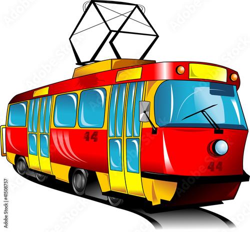 czerwony-tramwaj