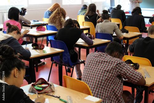 Foto  salle d'examen, concours