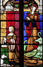 Church Of Brou Stained Glass O...