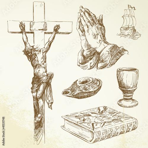 Stampa su Tela christianity