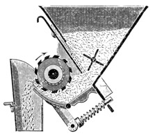 """Detail Of The Seed Drill """"Saxonia"""""""