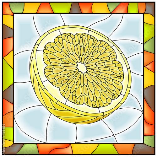 wektorowa-ilustracja-owocowa-zolta-cytryna