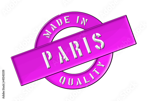 Made in Paris Wallpaper Mural