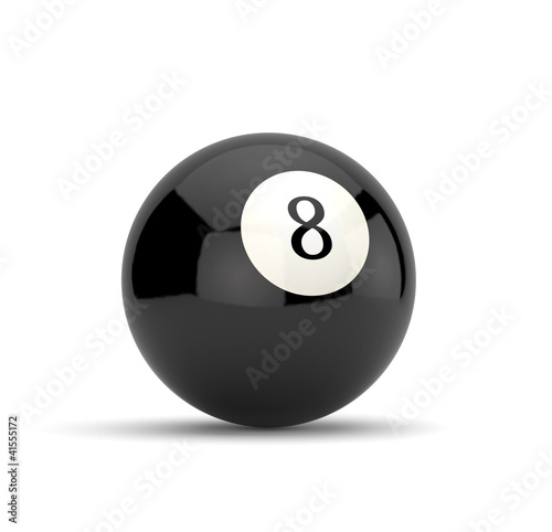 Fotografie, Obraz  Eight ball