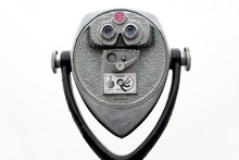Coin Operated Binoculars On Wh...