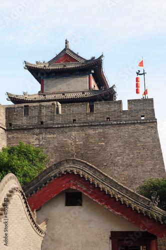 Foto op Plexiglas Xian City wall of Xian