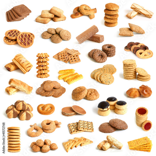Leinwand Poster Cookies collection