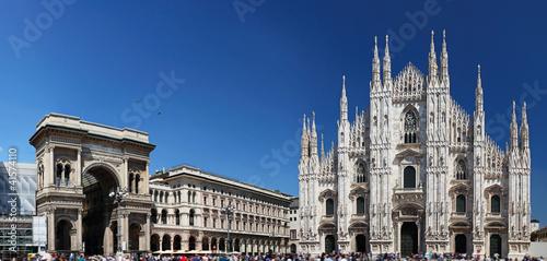 Papiers peints Milan Piazza del Duomo in Milan, Italy