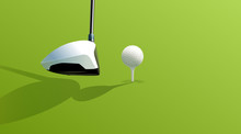 Driver And Ball