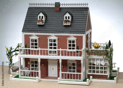 Photo  model of a house