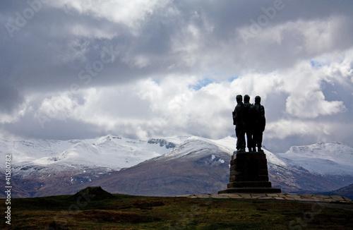 Fotografía Commando Memorial, Spean Bridge, Highlands of Scotland