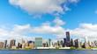 New York City Manhattan midtown skyline time lapse