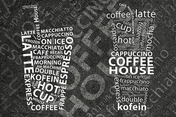 Fototapeta Kawa Coffee Background