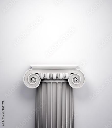 Fotografie, Obraz  Antique doric style column