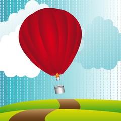balon na vrući zrak