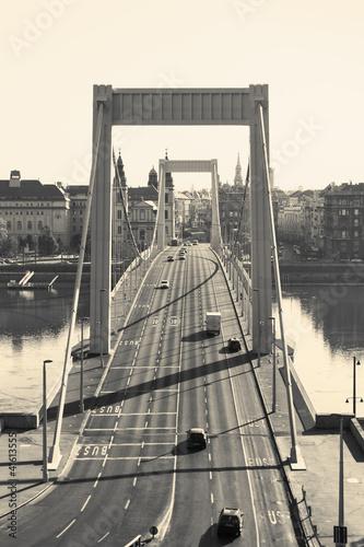 Naklejki retro elizabeth-bridge-budapeszt