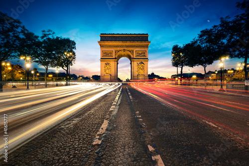 Poster Paris Arc de Triomphe Paris France