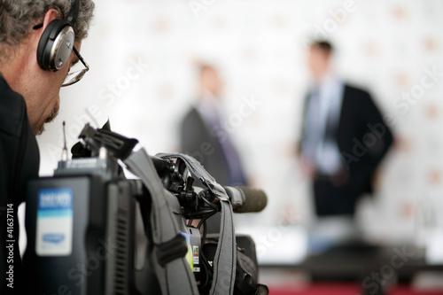 TV Pressekonferenz Slika na platnu