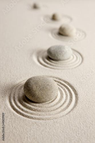 Acrylic Prints Stones in Sand Stones