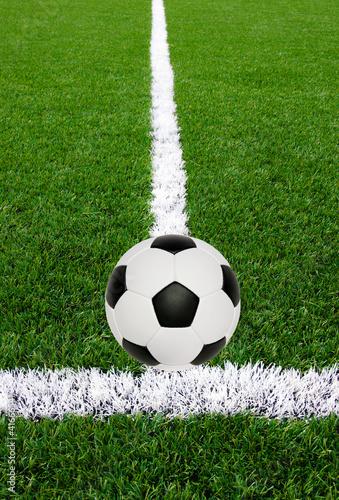 Fototapeta Soccer ball obraz na płótnie