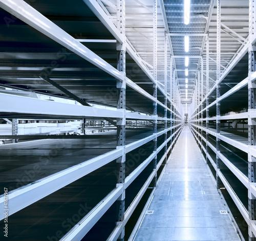 Staande foto Industrial geb. New and modern warehouse