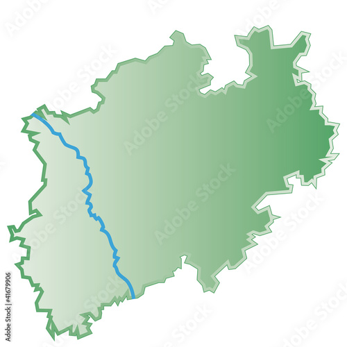 Karte Von Nrw.Nrw Nordrhein Westfalen Schematische Karte Mit Qxp9 Datei Buy This