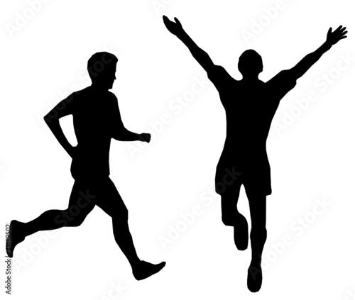sylwetka-dwoch-biegaczy