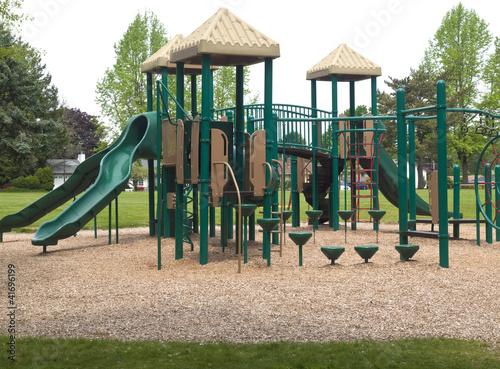 Valokuva  Children playground.