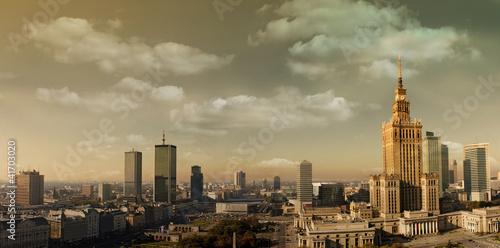 Warsaw panorama - 41703020