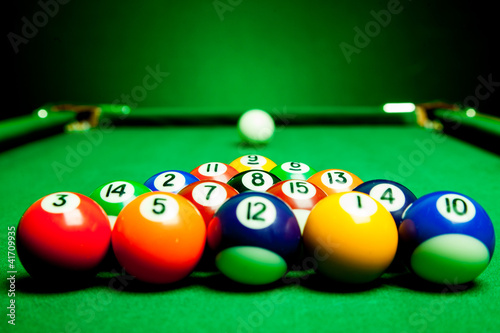 Fotografie, Obraz  billiard spheres