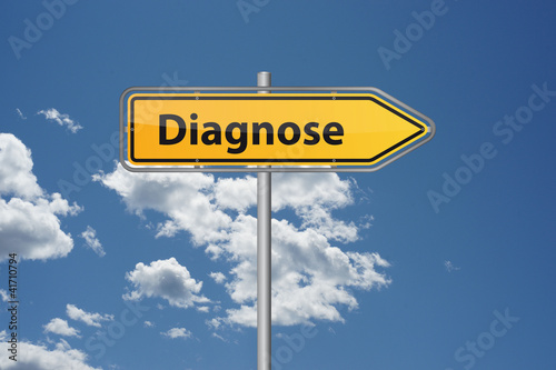 Fototapeta  Der Weg zur Diagnose