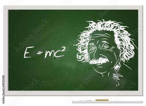 Poster  Formula e=mc2