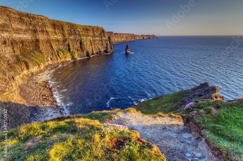 Canvastavla Cliffs of Moher in Co. Clare, Ireland