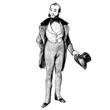 Homme De 1840