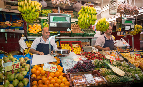 Fotografia Grocery stall in the market