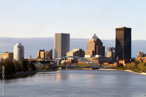 Vászonkép Rochester New York Skyline