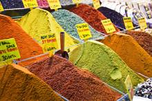 Epices Au Bazar égyptien D'Istambul - Turquie