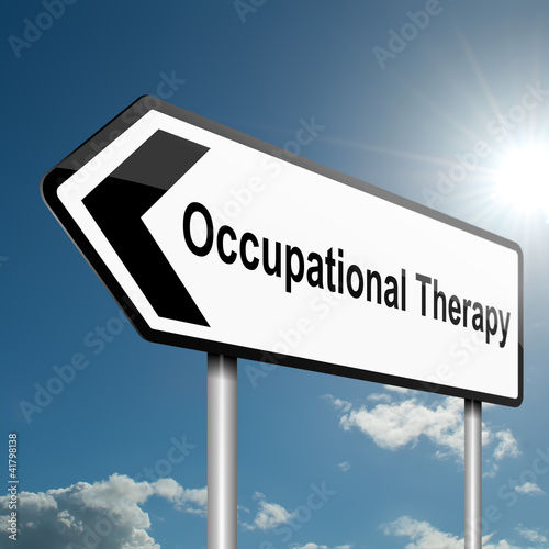 Fotografie, Obraz  Occupational Therapy concept.
