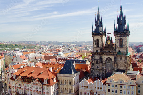 Fototapety, obrazy: Prague, the capital of Czech Republic
