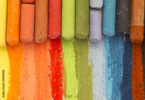dried pastels - 41814166