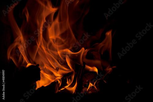 Photo  Fire flames