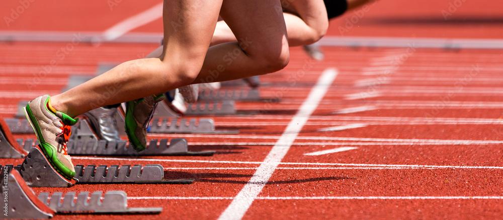Fototapety, obrazy: Sprintstart