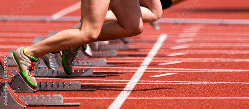 Fotomural Sprintstart