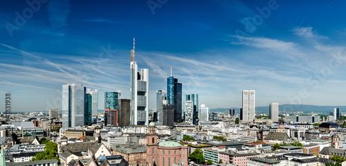 Canvas Prints Kuala Lumpur Frankfurt Cityscape