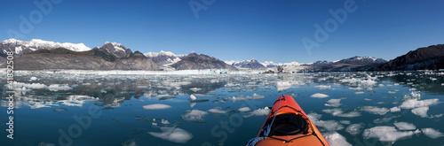 Valokuvatapetti Columbia Glacier