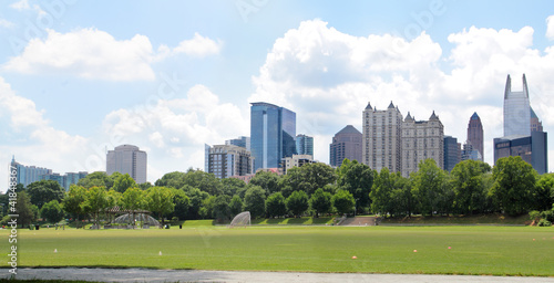 Poster Los Angeles Atlant from Piedmont Park