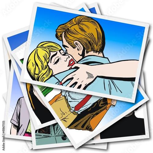 kolekcja-ilustracji-z-parami-enamorados