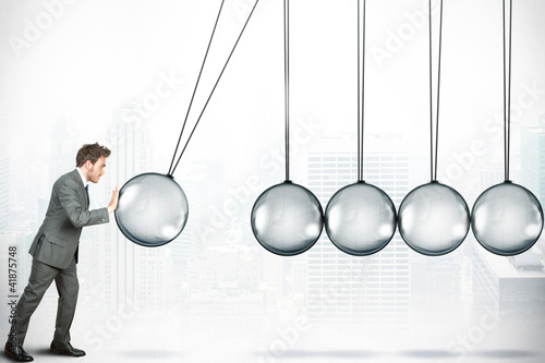 Cuadros en Lienzo Business challenge concept